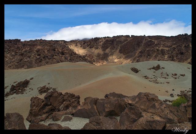 Tenerife Parque Nacional Teide Valle la Orotava - Minas de San José