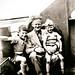 Small photo of Roger, Albert and Alan Burnett