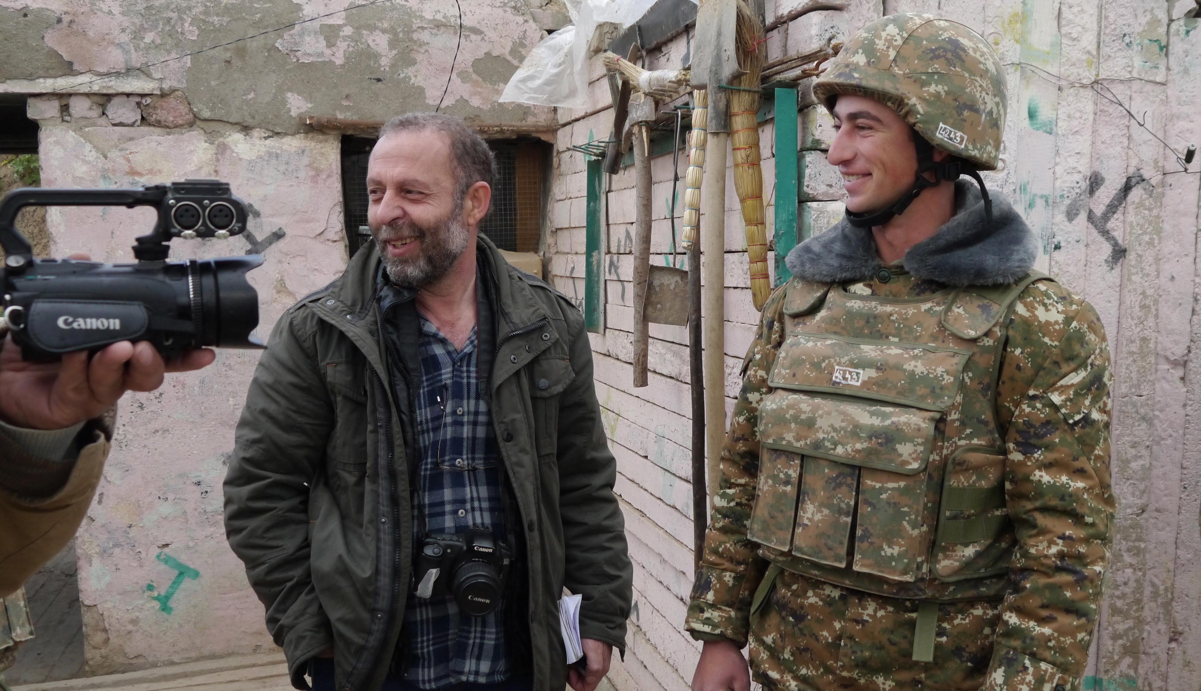 Edik Baghdasaryan in Nagorno-Karabakh