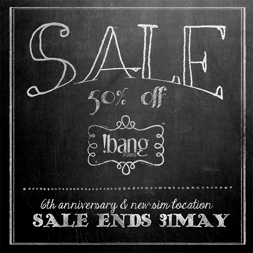 !bang poses anniversary sale