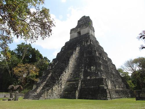 Tikal: le Temple 1 ou le Temple du Grand Jaguar