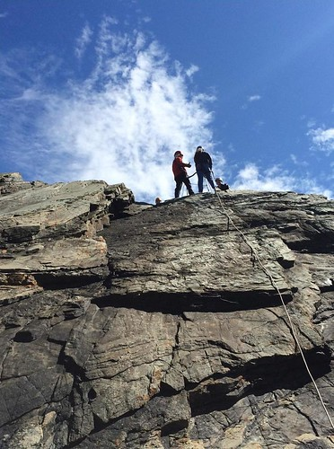 Rock Climbing at Anglesey Adventures