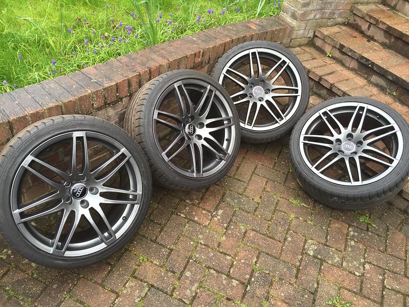 For Sale Genuine Audi Rs4 B7 Oem Wheels Refurbished In