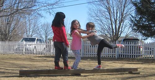 balancing friends