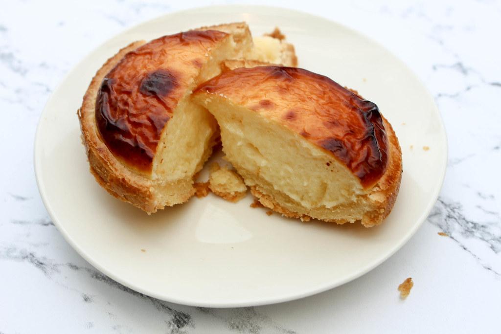 primadeli lava cheese tart open