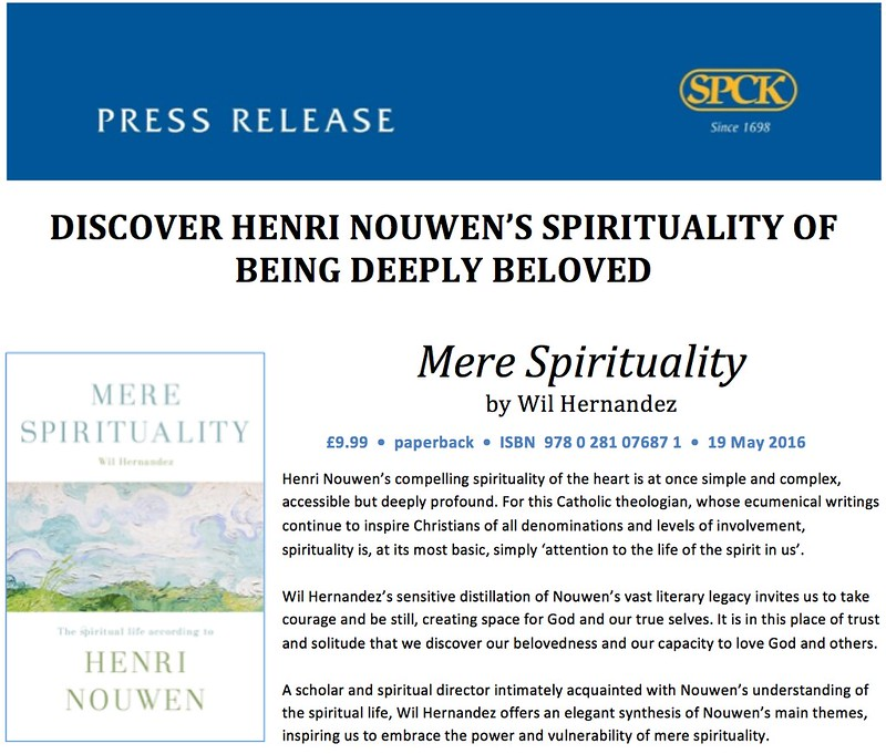 Mere Spirituality UK/EU edition