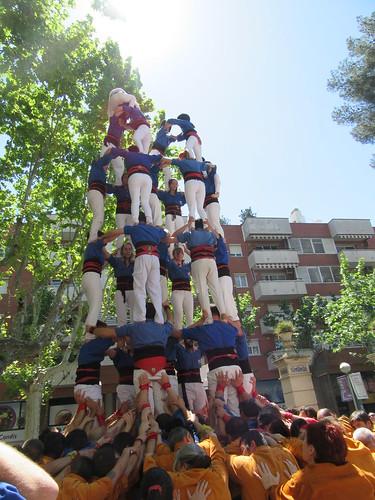 Diada de Sant Jordi 2016 dels Castellers d'Esplugues