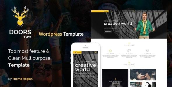 Themeforest Doors Two v1.0 - Multipurpose WordPress Theme