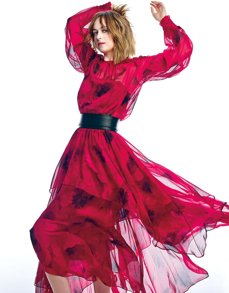 Дакота Джонсон — Фотосессия для «Elle» JP 2015 – 2