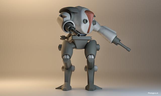 droid quarterview