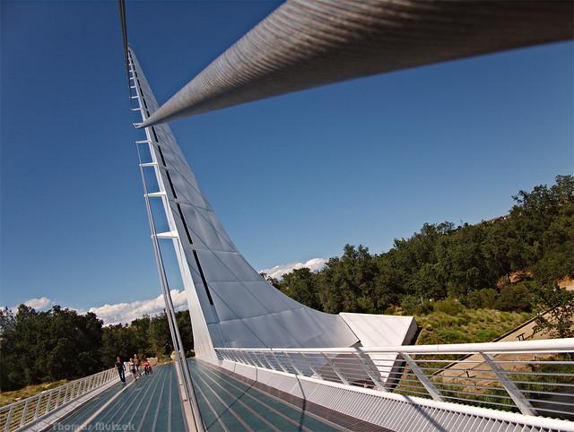 Sundial Bridge at Turtle Bay