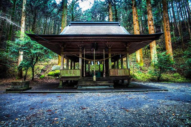 Kamishikimi shrine : HDR