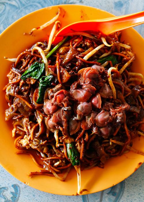 Jinjang Fei Lou Fresh Cockles Fried Noodles
