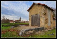 La gare du tacot à Villaines-en-Duesmois