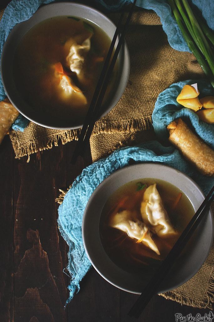 Homemade Dumpling Soup | GirlCarnovore.com