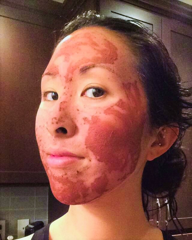 fig+yarrow clay mask