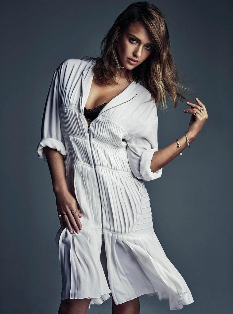 Джессика Альба — Фотосессия для «Vogue» AU 2016 – 2