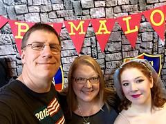 Spamalot Post-Show Family Selfie