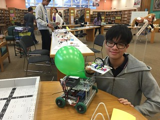 LittleBits & Robotics activities at the Maker Fair
