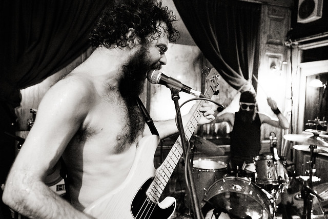 Photograph: [Untitled]; Zeus @ The Stag and Hounds, Bristol, January 2016. By Simon Holliday.