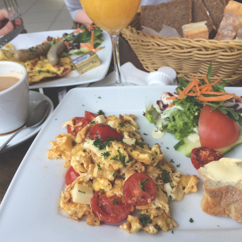 Brunch at Le Cafe Mannheim