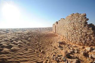 Fort near Ksar Ghilane