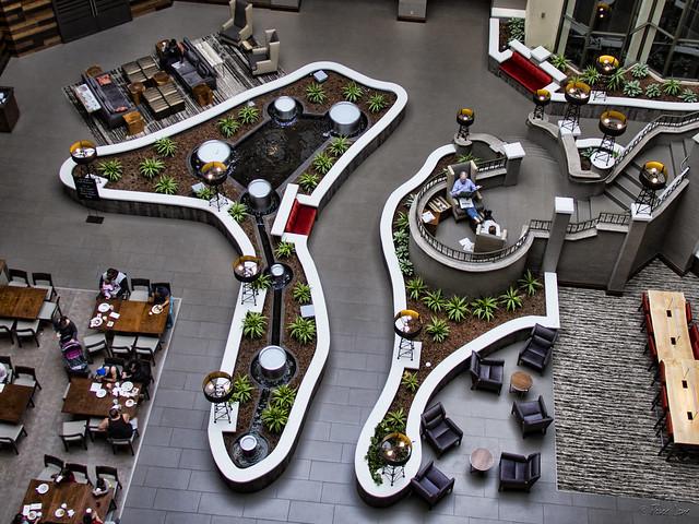 Embassy Suites atrium