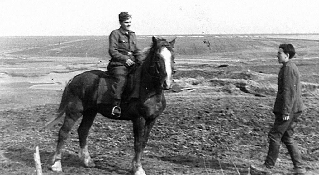 Domingo Rodríguez Romera DIVISION AZUL albaceteños frente ruso 1942 foto 3