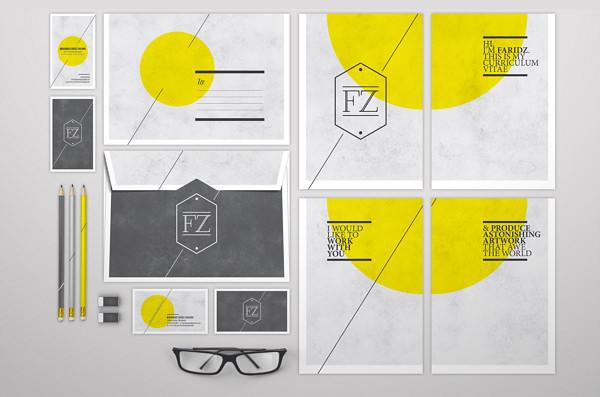 CV & Self-Branding – 1 by Faridz Design Suite
