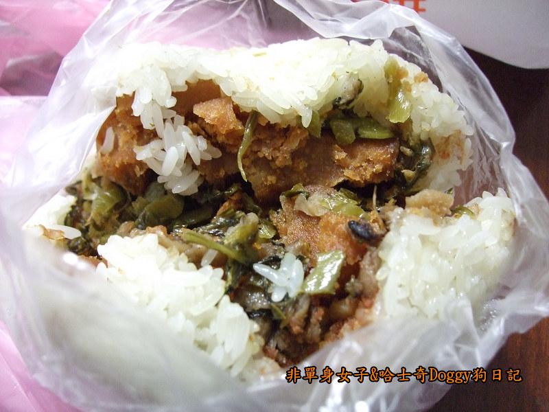 寧夏夜市美食蚵仔煎飯糰豆花06