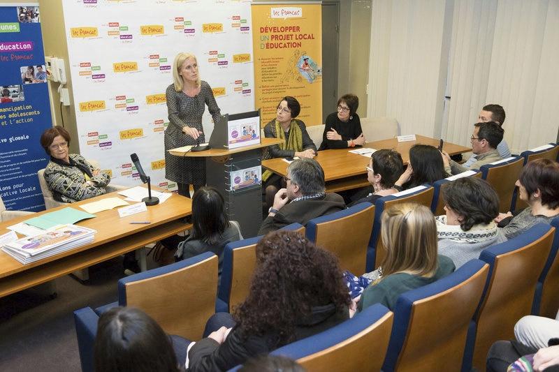 Présentation officielle du Chevalet «Accueil éducatif des enfants et des jeunes en situation de handicap»