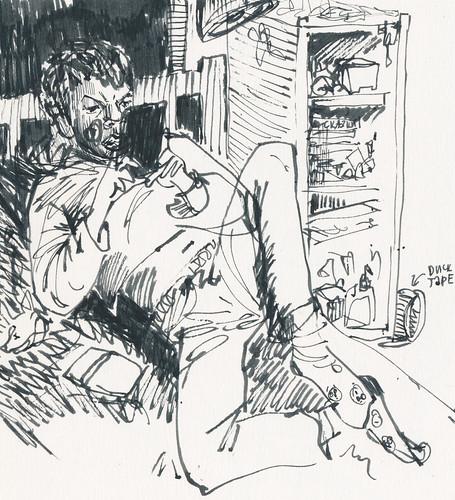 Sketchbook #94: Reading Time