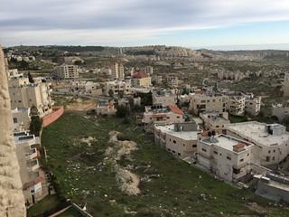 Bethlehem Hotel view, Palestine 2016