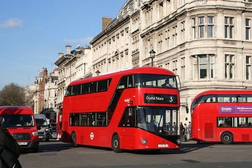 Abellio London LT712 on Route 3, Westminster