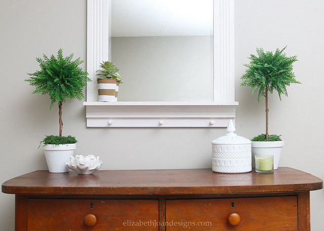 Entryway Console Mirror Decor