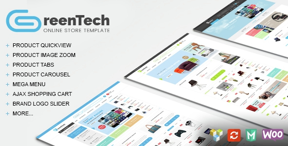 GreenTech v1.2 – Shopping Responsive WooCommerce Theme