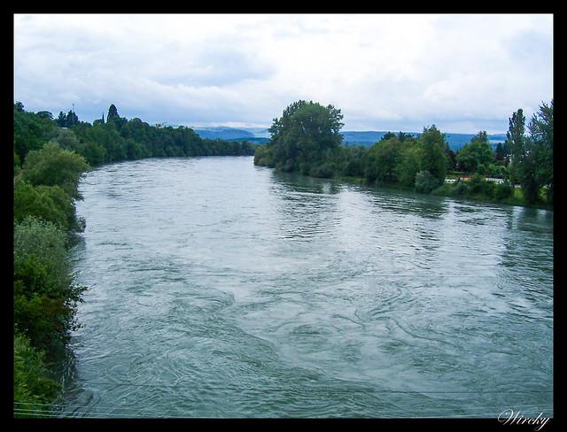 Qué ver qué hacer suiza Bad Zurzach - Río Rin