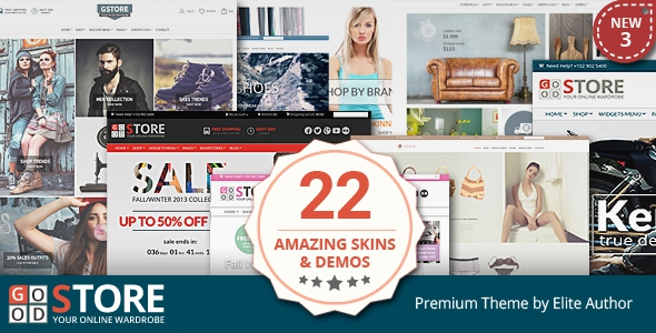 GoodStore v4.3 – WooCommerce Responsive Theme