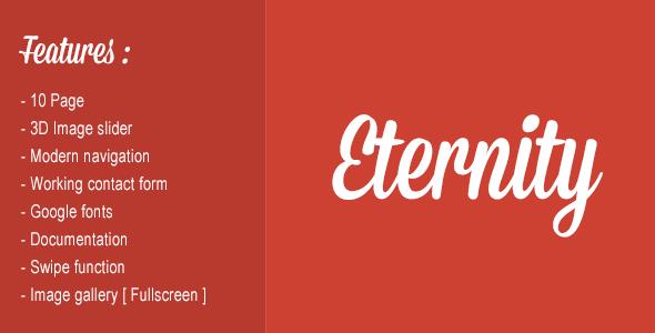 ThemeForest Eternity v1.1 – Mobile website