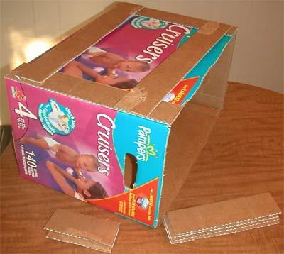 How to: No Sew Fleece Cube / Box Shelf 25696015124_f34cc87898