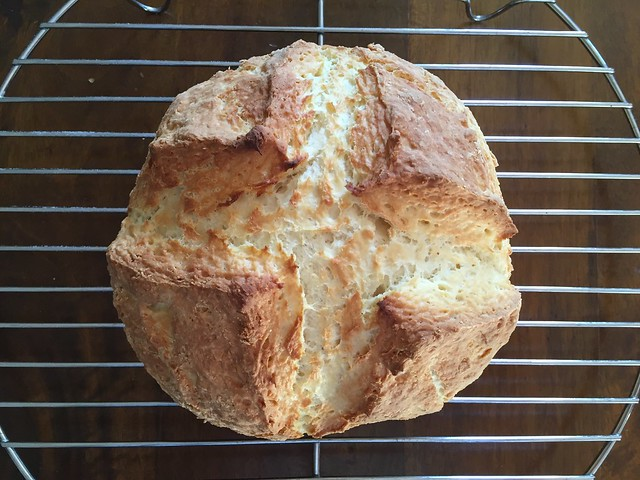 "Irish ""White"" Soda Bread"
