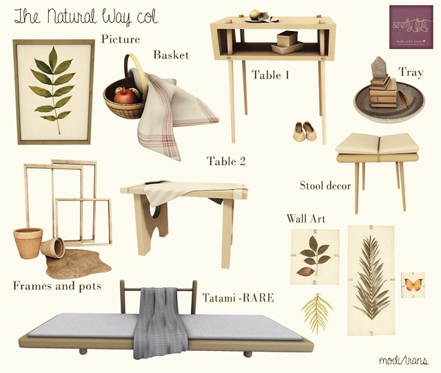 Serenity Style - Natural Way Col- Shiny Shabby