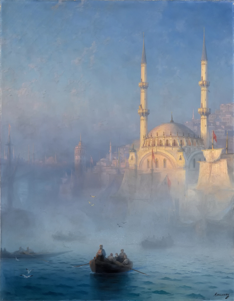 Constantinople by Ivan Aivazovsky