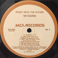 FLOATERS:FLOAT INTO THE FUTURE(LABEL SIDE-B)