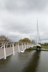 New foot bridge in Reading