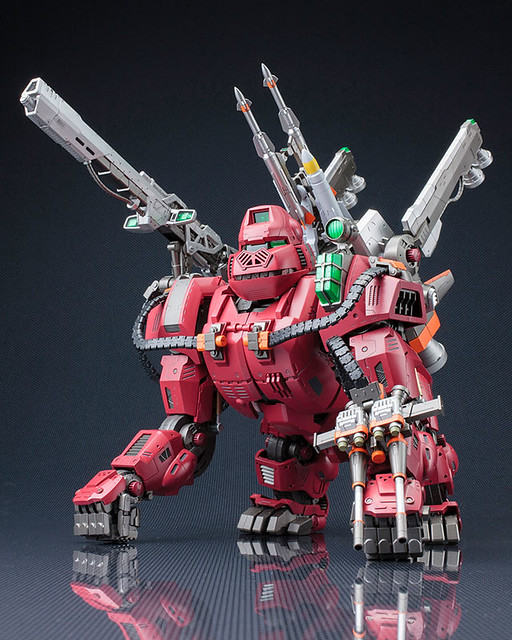 HMM 《洛伊德ZOIDS》格鬥金剛 Iron Kong 【對抗師團式樣】紅色版本!