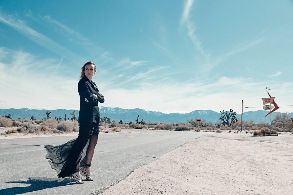 Диана Крюгер — Фотосессия для «Paris Match» 2016 – 2