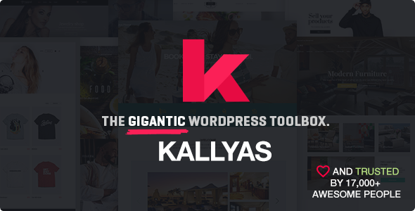 KALLYAS v4.1.4 - Responsive Multi-Purpose WordPress Theme