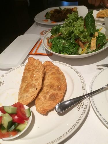 Dinner at Modern Nomads