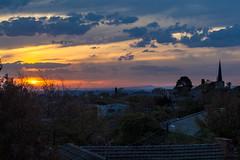 melbourne city - sunset